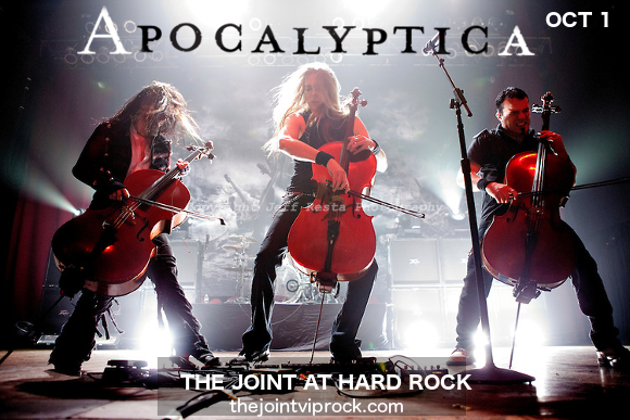 Apocalyptica at The Joint at Hard Rock Hotel