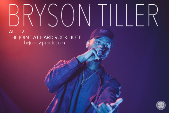 Bryson Tiller at The Joint at Hard Rock Hotel