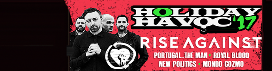 X107.5 Holiday Havoc: Rise Against, Portugal The Man, Royal Blood, New Politics & Mondo Cozmo at The Joint at Hard Rock Hotel