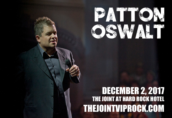 Patton Oswalt at The Joint at Hard Rock Hotel