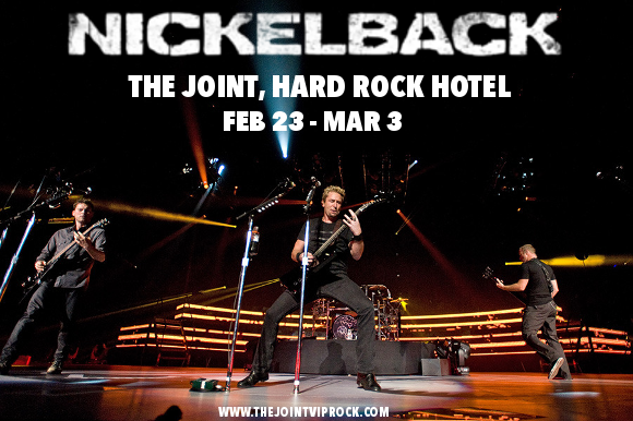 Nickelback at The Joint at Hard Rock Hotel