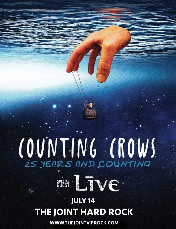 Counting Crows & Live - Band at The Joint at Hard Rock Hotel