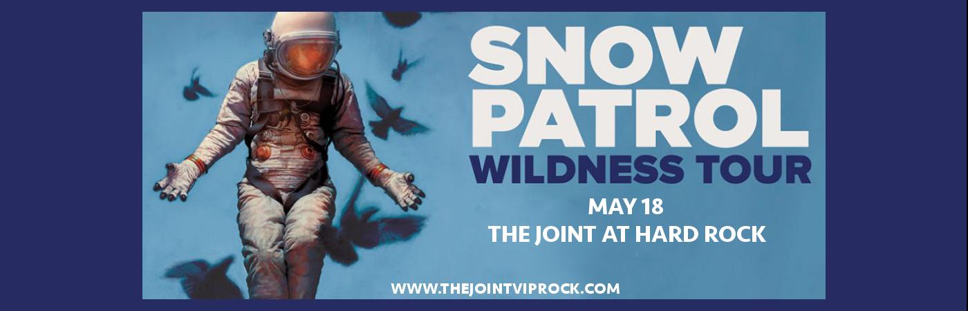 Snow Patrol at The Joint at Hard Rock Hotel