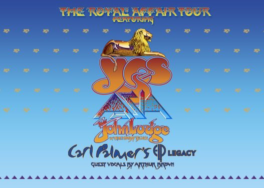 The Royal Affair: Yes, Asia, John Lodge & Carl Palmer's ELP Legacy at The Joint at Hard Rock Hotel