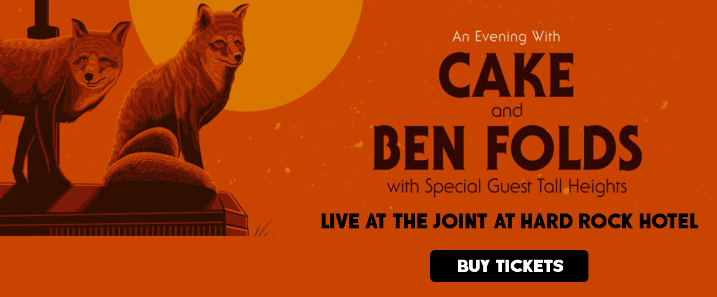Ben Folds & Cake at The Joint at Hard Rock Hotel