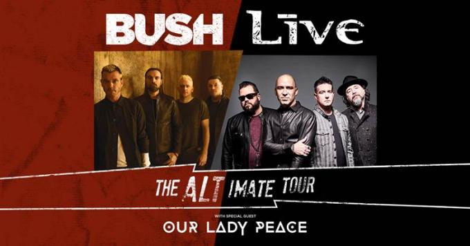 Live, Bush & Our Lady Peace at The Joint at Hard Rock Hotel