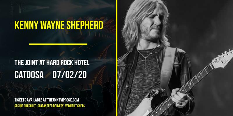 Kenny Wayne Shepherd at The Joint at Hard Rock Hotel