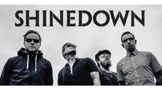 Shinedown at The Joint at Hard Rock Hotel