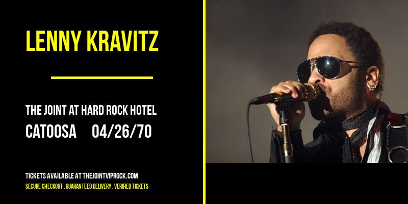 Lenny Kravitz [POSTPONED] at The Joint at Hard Rock Hotel