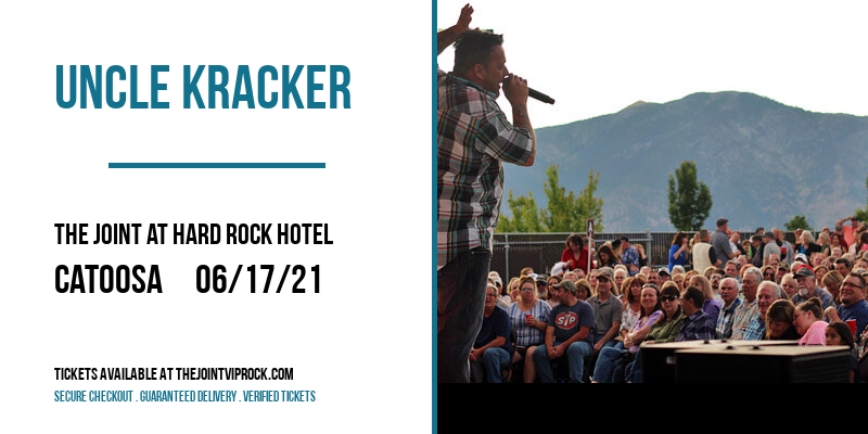 Uncle Kracker at The Joint at Hard Rock Hotel