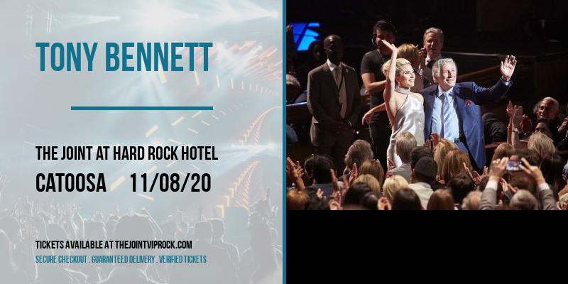 Tony Bennett [CANCELLED] at The Joint at Hard Rock Hotel