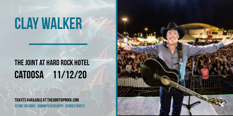 Clay Walker at The Joint at Hard Rock Hotel