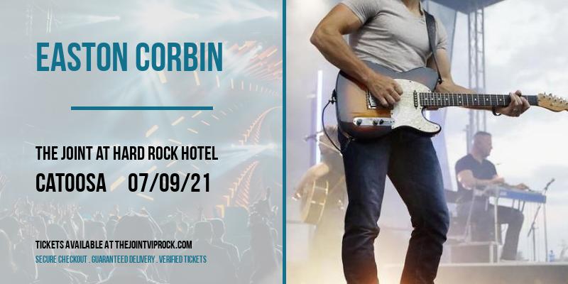 Easton Corbin at The Joint at Hard Rock Hotel