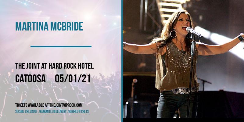 Martina McBride at The Joint at Hard Rock Hotel