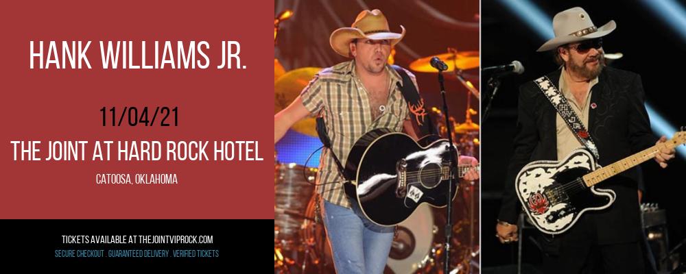 Hank Williams Jr. at The Joint at Hard Rock Hotel